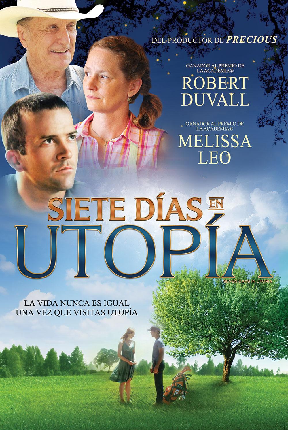 Poster - Siete días en Utopia