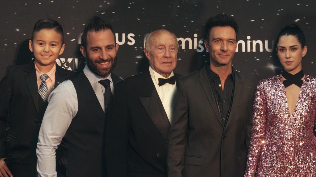 ceremonia de los Premios Luminus